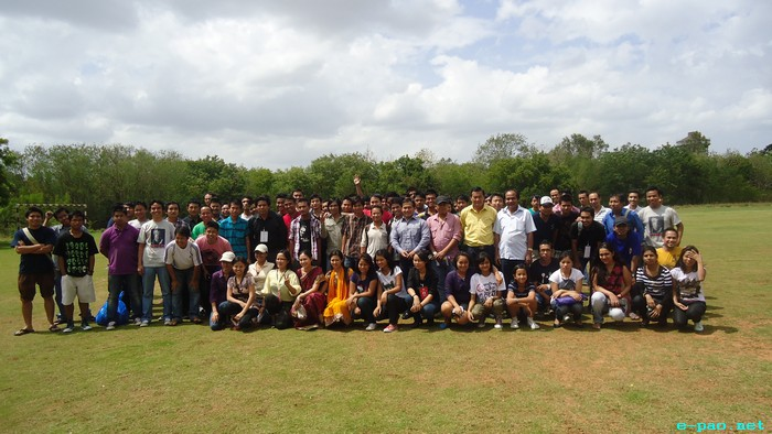 All Manipuri 1st Sports meet in Hyderabad 2011 - group photo